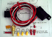 Super HD 185 deg relay kit with harness 10 Gauge